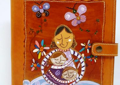 Agenda-profesora-Jorge Manrique-niños-mujer-madre-a
