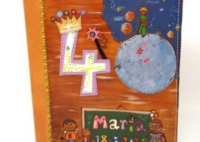 Albúm-fotos-grande-cumpleaños-40-María-hijos_532x600
