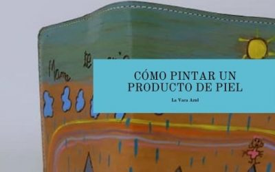 Tinte para cuero: Cómo pintar un producto de piel